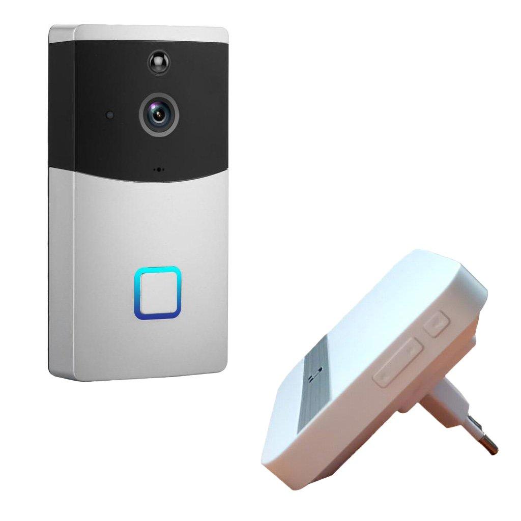 Homyl Wireless 720p Video Türklingel Türsprechanlage Intercom System mit Nachtsicht