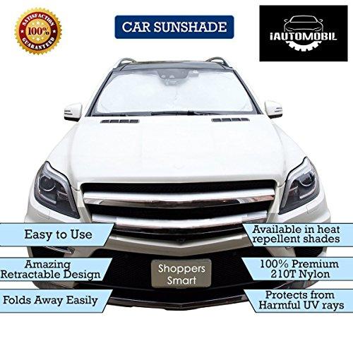 "iAutomobil Windshield Car Sunshade 63""x33"", Dual Color by iAutomobil"