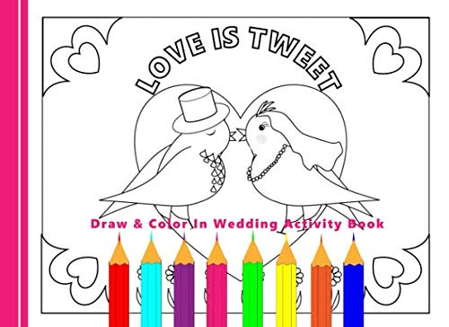 - Draw & Color In Wedding Activity Book: Kids Wedding Favor Gift: Books,  Shayley Stationery: 9781792960765: Amazon.com: Books