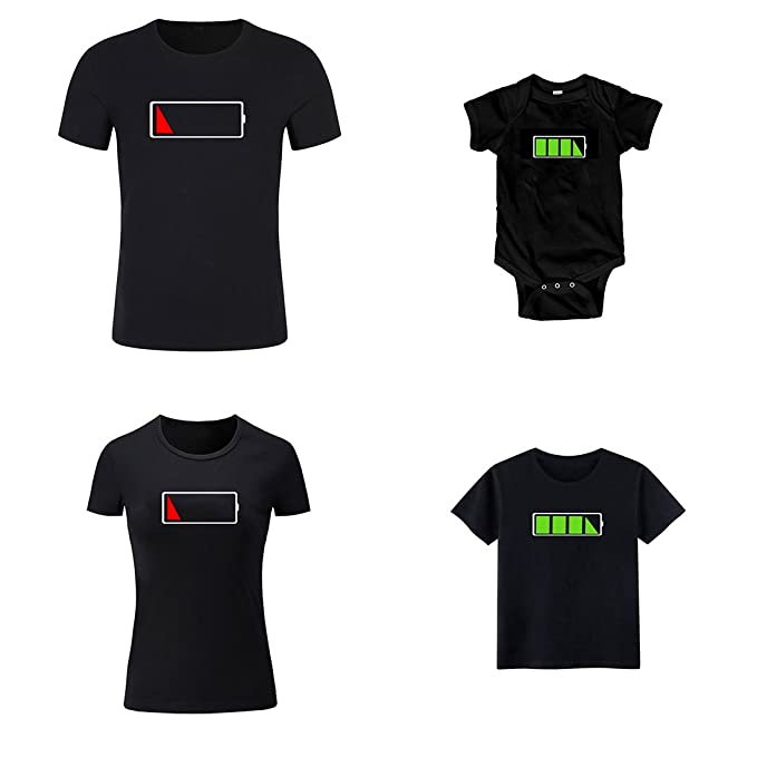 6323e4f0 Image Unavailable. Image not available for. Color: Enfei Funny Family Shirts  for Toddler Little Girls Boys and Dad Mom T-Shirt Matching