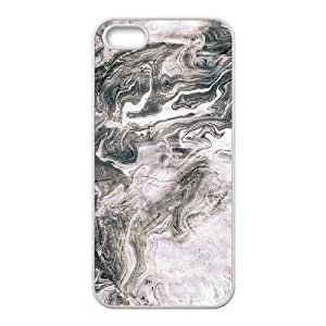 Marbling Unique Design Cover Case with Hard Shell Protection for Iphone 5,5S Case lxa#443828