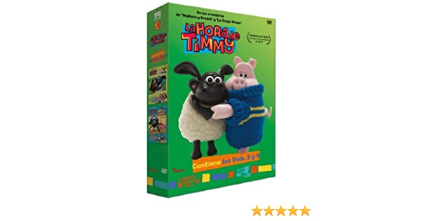 La Hora Timmy Vol 3-4 [DVD]: Amazon.es: Personajes Animados, David Scanlon, Jackie Cockle, Liz Whitaker, Personajes Animados, Jackie Cockle: Cine y Series TV