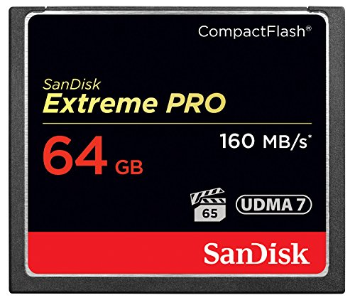 SanDisk Extreme PRO 64GB Compact Flash Memory Card UDMA 7 Speed Up To 160MB/s-...
