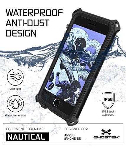 Ghostek 643217497364 Wasserdicht Nautical Schutzhülle für Apple iPhone 6/6S