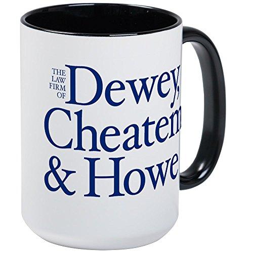 CafePress - DEWEY, CHEATEM & HOWE - Mugs - Coffee Mug, Large 15 oz. White Coffee Cup