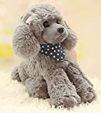 Cosnew Squeezable Stuffed Poodle Dog Soft Plush Toy