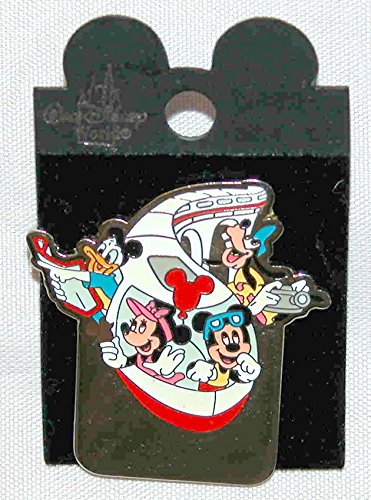 DISNEY PARK EXCLUSIVE 'PERSONALIZED' COLLECTABLE TRADING PIN - MICKEY MOUSE AND GANG