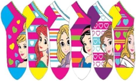 Pack 6 calcetines Princesas Disney: Amazon.es: Juguetes y juegos