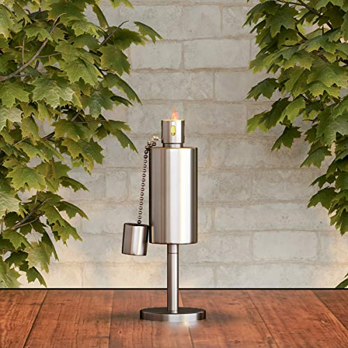 Pure Garden 50-221 Tabletop Torch Lamp-10.5