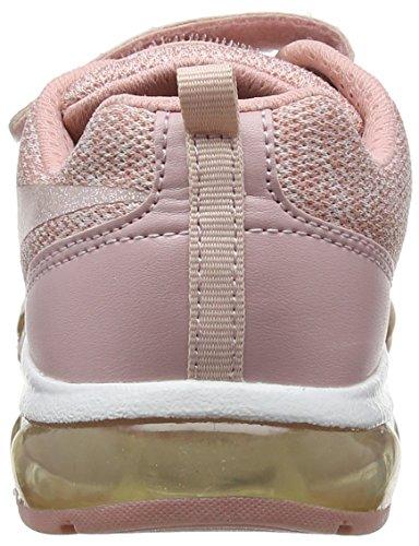 Geox J Android B, Zapatillas Para Niñas Rosa (Rose/white)