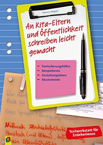 An kindergarten abschiedsbrief eltern Kita abschiedbrief!