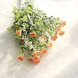Artificial Fake Flowers Wild Chrysanthemum Floral Wedding Bouquet Home Decor 116