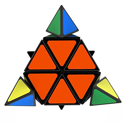 Pyramid Cube – Professional Pyramid Speed Puzzle – Durable & Smooth Corner Cutting – For Kids & Adults – Better Than The Original Triangle!