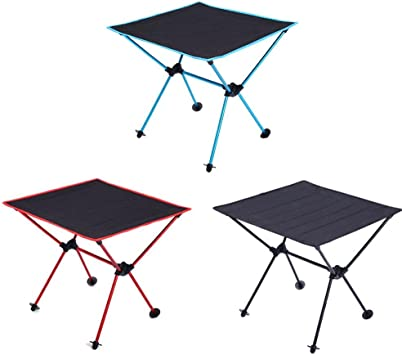 Mesa auxiliar mesa de jardín plegable y Ultra compacta barbacoa ...