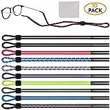 Best Eyewear Retainers - Adjustable Eyewear Retainer,[10 Pack]PEYOU Eyeglasses Holder Strap cord-Universal Review