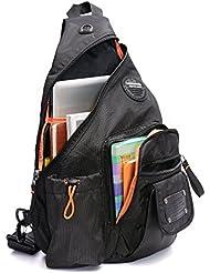 DDDH Sling Bags Chest Shoulder Backpacks Crossbody Packs Daypacks Travel Backpack For Outdoor Sports Men Women