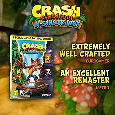 Crash Bandicoot N. Sane Trilogy (PC Code in Box) [Importación ...