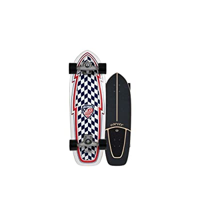 "Carver Skateboards 2020 USA Booster Complete CX 30.75"" : Sports & Outdoors"