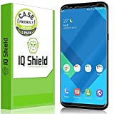 "Galaxy S8 Screen Protector, IQ Shield LiQuidSkin Full Coverage Screen Protector for Galaxy S8 5.8"" Screen 2017(2-Pack, Case Friendly Updated Version) Anti- Scratch,HD Clear Anti-Bubble Film"