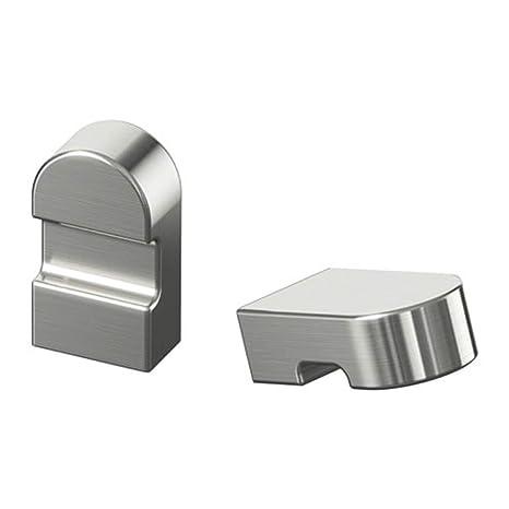 Amazon.com: IKEA Orrnas 302.361.53 - Pomo de acero ...