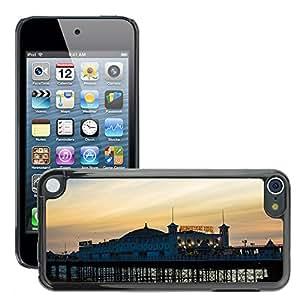 Etui Housse Coque de Protection Cover Rigide pour // M00171601 Brighton Turismo Seafront // Apple ipod Touch 5 5G 5th