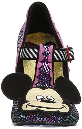 Irregular Choice I Heart Minnie - Tacones Mujer Purple (Purple Metallic)