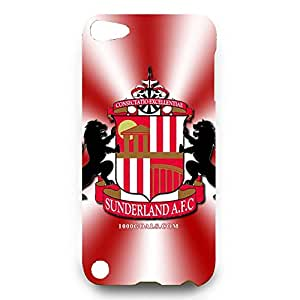 Cool Sunderland A.F.C Theme Phone Case For 3D Hard Plastic Snap On Ipod Touch 5