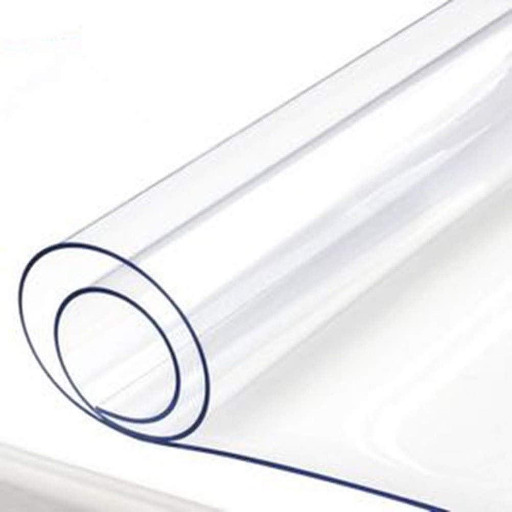 Lona al Aire Libre Transparente Espesar Plástico de PVC Lona a Prueba de Lluvia Protector Solar Balcón A Prueba de Viento Ventana Jardinería Suculentas Lienzo LIUDINGDING
