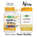 Nature's Way Premium Quality Lutein 20 mg, 60 Count