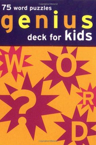 (Genius Deck Word Puzzles for Kids (Genius Decks))