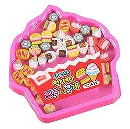 Set Of 2 Stationery Gift Eraser Eraser Prizes Random Color