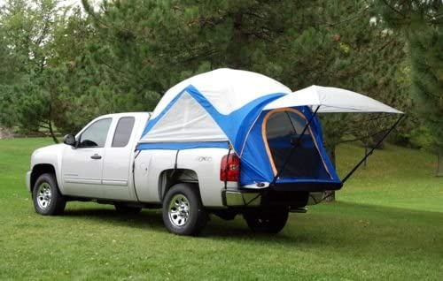 Napier – 57099-32 – Sportz Truck Tent Mid Size Crew Cab and Air Mattress