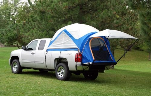 Napier - 57099-32 - Sportz Truck Tent Mid Size Crew Cab and Air Mattress (Cab Fits Crew)