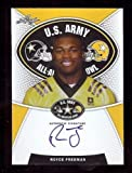 ROYCE FREEMAN 2014 LEAF ARMY TOUR CERTIFIED AUTOGRAPHED HIGH SCHOOL ROOKIE CARD! OREGON DUCKS!