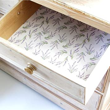 Amazing English Lavender Scented Drawer Liners Includes By Best British Gifts