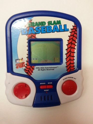 Electronic Hand Held Deluxe Sports Games Grand Slam Baseball by MGA by MGA