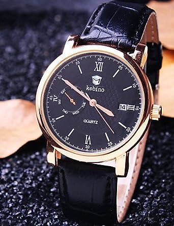 Sbsghdx® Reloj traje impermeable vida de modo de negocios de la ...