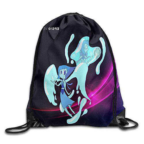 HROSE Steven Universe Drawstring Backpack Bag Training Gymsack For Men & Women Sackpack - Great For Home Travel Sport Everyday Storage Use