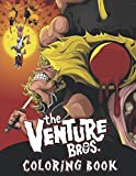 The Venture Bros Coloring Book: Perfect Coloring Book For Kids