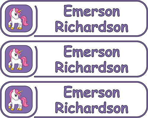 Premium, High Quality Custom Name Labels, Multiple Colors And Sizes, Waterproof, Microwave And Dishwasher Safe, Custom Name Label For Kids, Multiple Names, Custom Stickers, Personalized Labels -