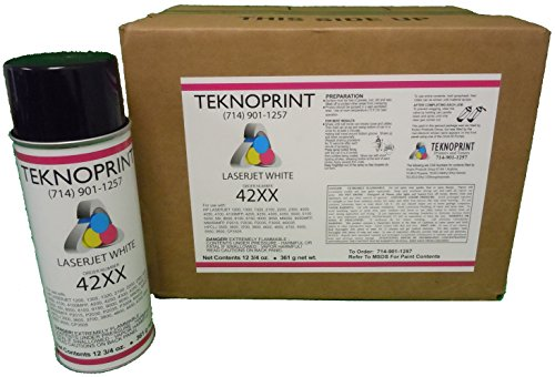 WHITE 42XX HP Laserjet 4000 4100 4200 4250 4300 4350 Laser Printer Spray Paint (1) Case 12 (4650 Laser)