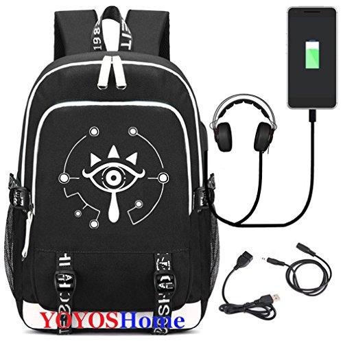 YOYOSHome Luminous Japanese Backpack Charging