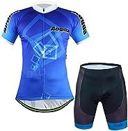 Aogda Cycling Cycling Bicycle Breathable Short Sleeves Suits Mens Bike Shirts