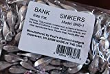 Bulk Bullet Weights Bank Fishing Sinkers - 3 to 5 Pounds - As Low As $5.50 per pound. *FREE SHIPPING*