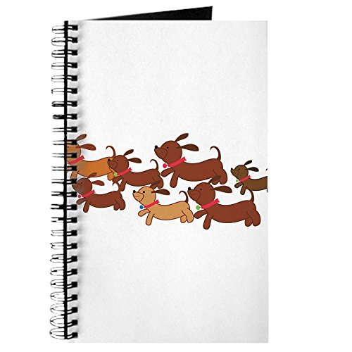 CafePress - Running Weiner Dogs.Png - Spiral Bound Journal Notebook, Personal Diary, - Kids Png Running