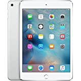 Apple iPad mini 4 (128GB, Wi-Fi + Cellular) (Silver) - Global Version