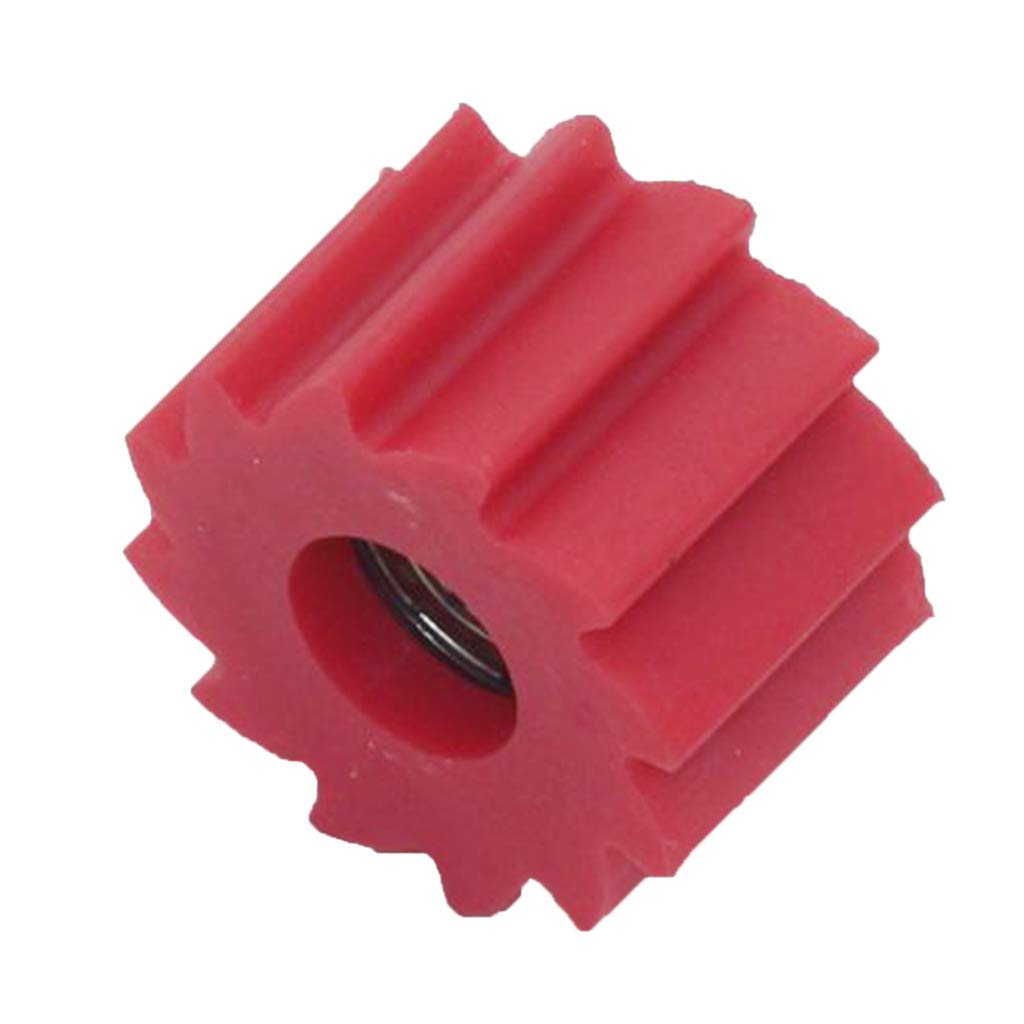 Sharplace Rodillo de Cadena Tensor de Polea 8mm Para Kawasaki Kx250f Kx450f Duro - rojo