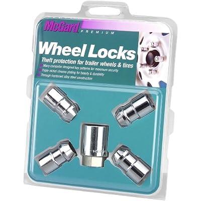 McGard 74041 Chrome Cone Seat Trailer Wheel Locks (1/2