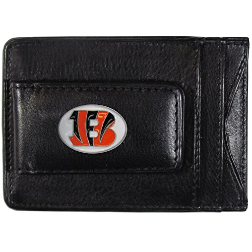 NFL Cincinnati Bengals Leather Money Clip -