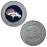 Denver Broncos Challenge Coin Poker Card Cover - Comes with Free Cut Card! (DENVER)